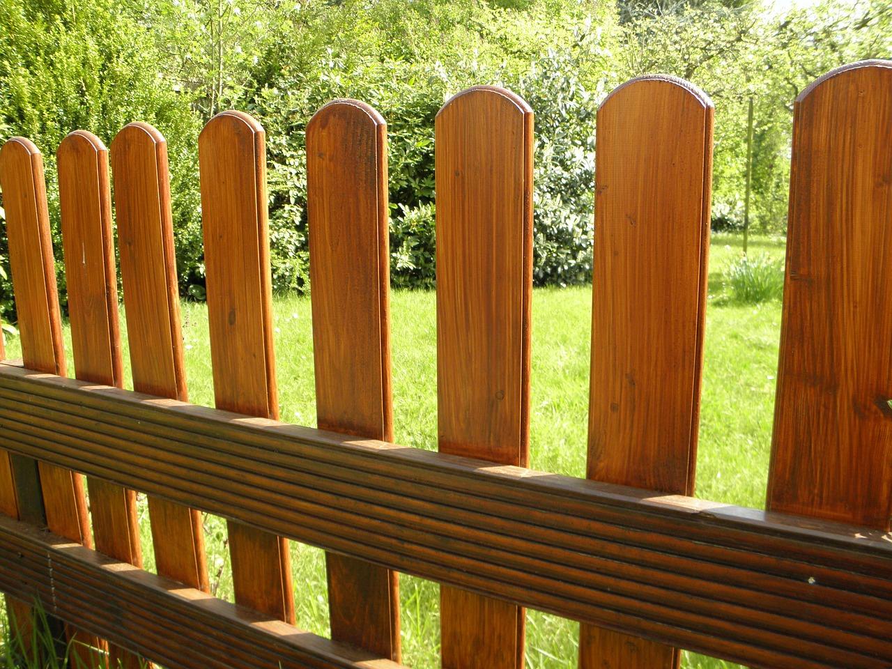 dřevěný plotovky