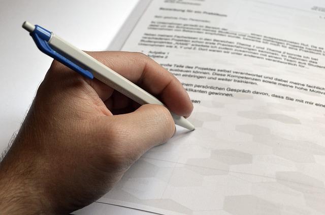 psaní dopisu