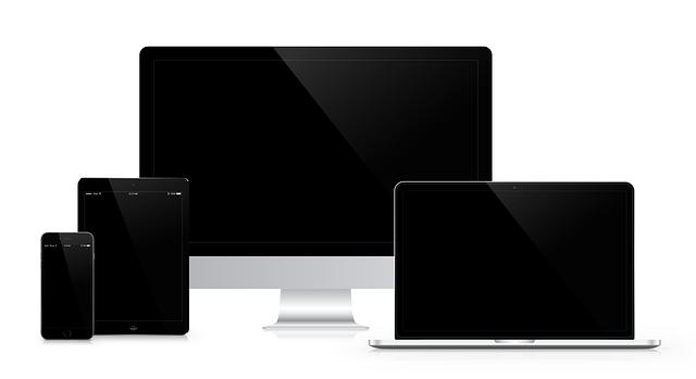 ipad iphone macbook přenosný počítač
