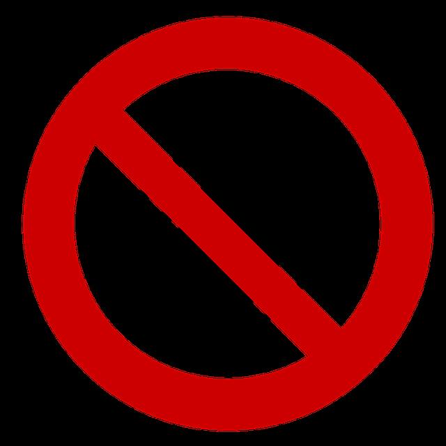 klíště v zákazu