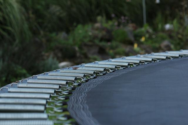 Detail trampolíny