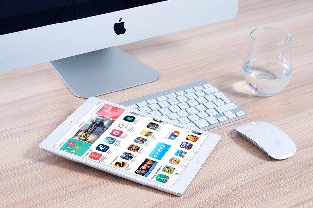 Apple aplikace tablet