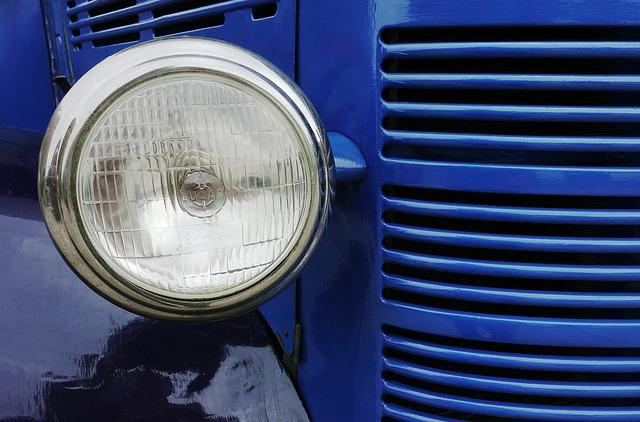 starý světlomet